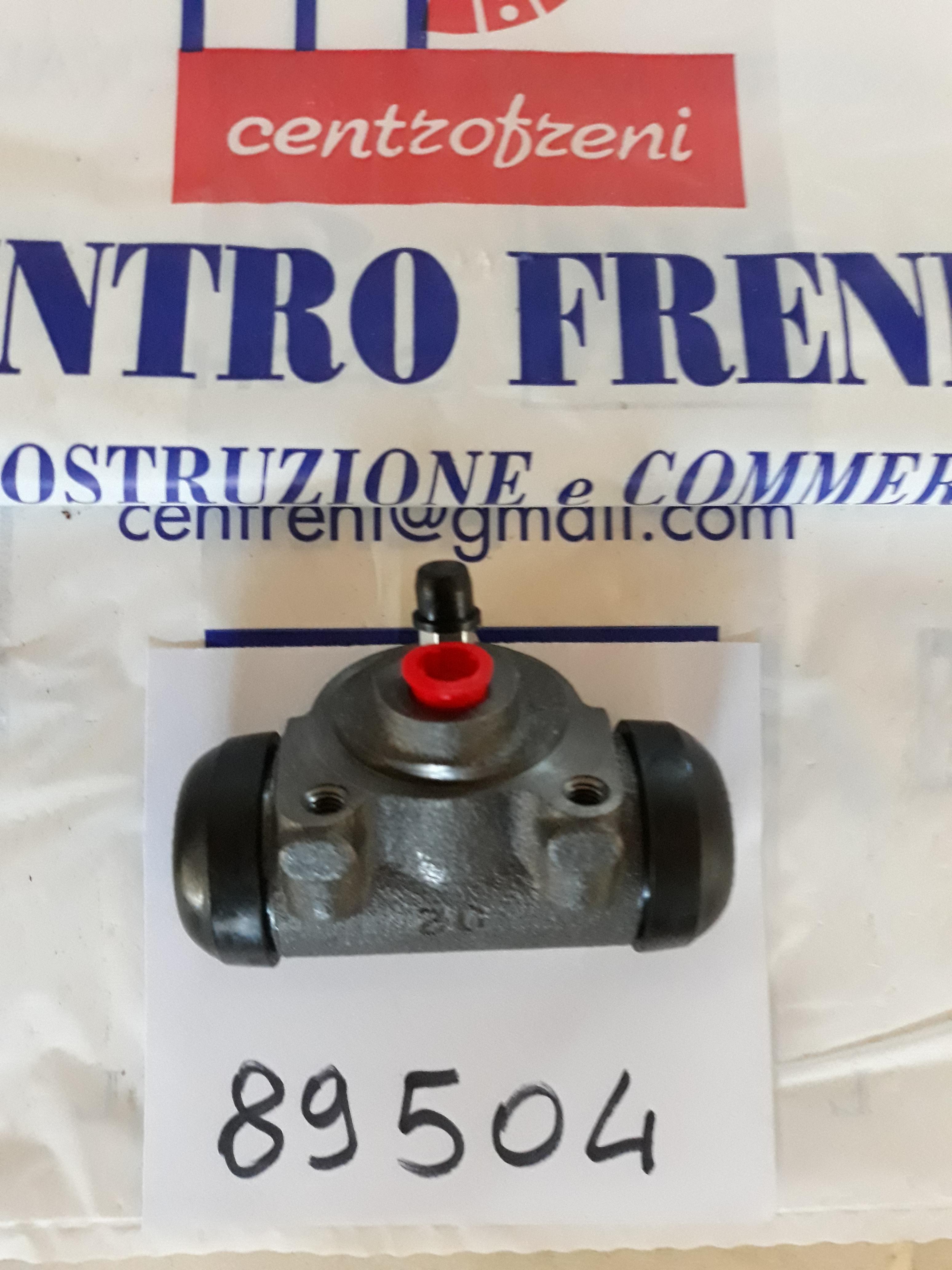 FIAT 500 C TOPOLINO BELVEDERE  CILINDRETTO FRENO 89516 864816 736818 N3